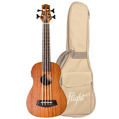 DUBS Electro Acoustic Bass Ukulele With Bag
