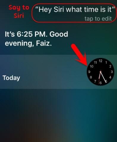 Az iPhone feloldása Siri-n keresztül