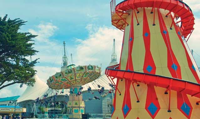 Butlins fairground - free to guests