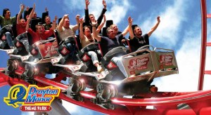 Drayton Manor Theme Park with Birmingham Hotel from £99