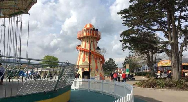 Butlin's fairground free to all guests.