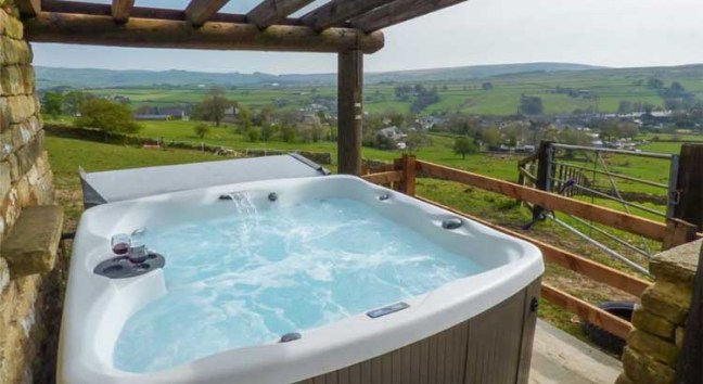 Cottages with swimming pools and hot tubs and if you really want to spoil yourself.