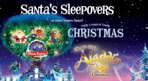 Alton Towers Christmas Breaks – Santa Sleepover from £270 for a family of four