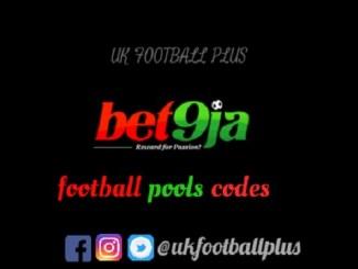 Bet9ja Pools Code