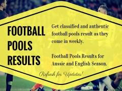 Week 23 Classified Pools Results – 2019/2020 Season