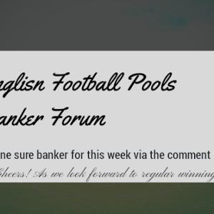 Pools Draws; Week 23 One Banker Room – UK 2019/2020 Season