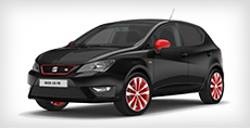Seat Ibiza 5-Door FR Red