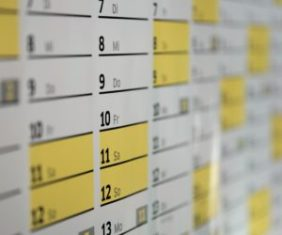 scheduling workout