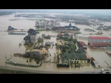 Hochwasser Balkan