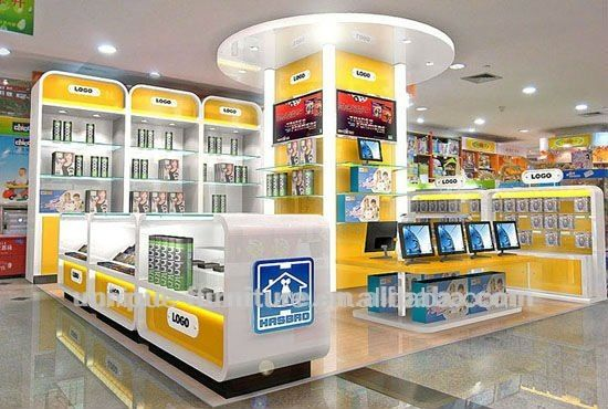 Unique mobile shops,mobile phone shop decoration design ...