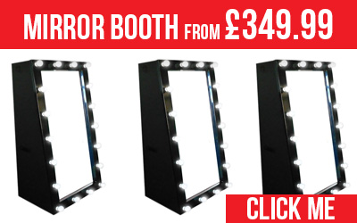 Mirror Booth Hire from only £349.99