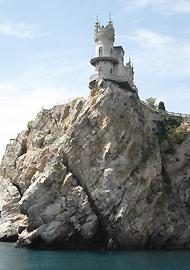 Le Nid d'hirondelle à Yalta