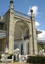 le palais Vorontsov à Aloupka