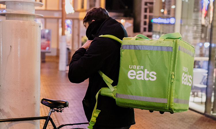 1eb03229c8a Uber Eats couriers go on strike in Groningen
