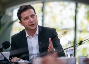 الرئيس فلاديمير زيلينسكي