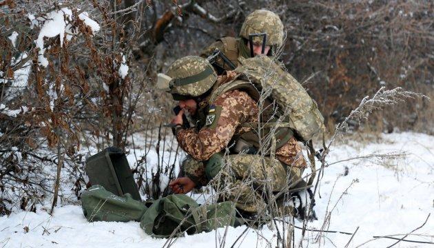 انتهاك وقف اطلاق في عدة مواقع، واصابة 11 جندي بجروح