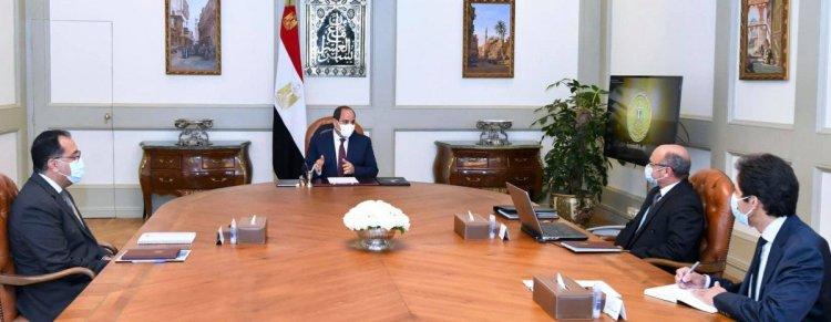 الرئيس السيسي يوجه الحكومة برفع الحد الأدنى للأجور