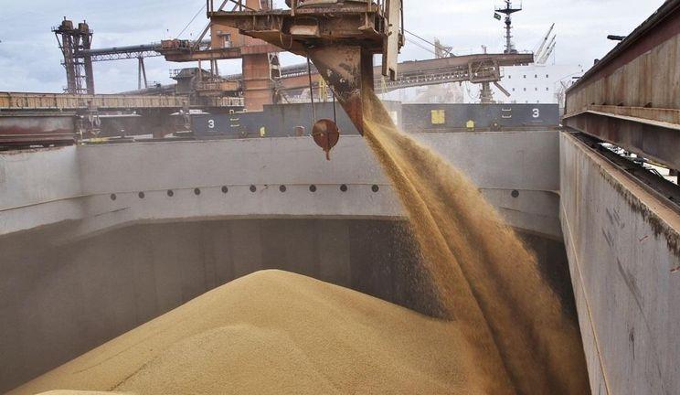 انخفاض حجم البضائع المصدرة عبر موانئ الاوكرانية بنسبة 23٪