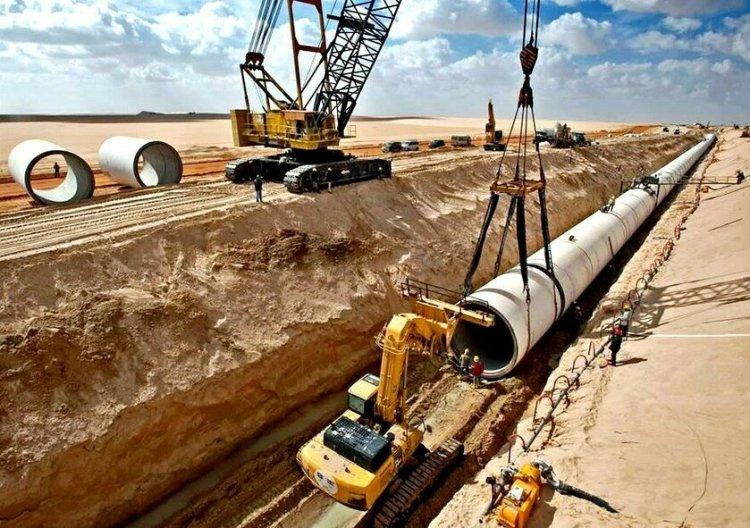 ليبيا..مشروع النهر الصناعي العظيم تحت الصحراء