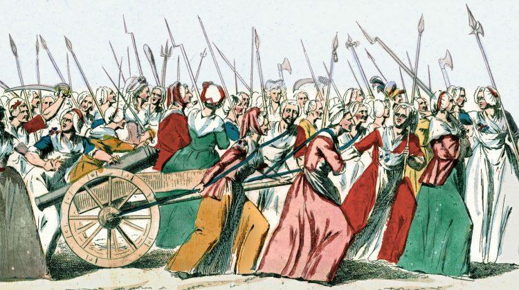 مسيرة المرأة في فرساي خلال الثورة الفرنسية