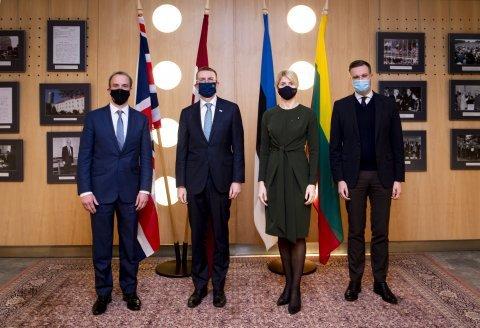 وزيرا خارجية المملكة المتحدة ودول البلطيق يوافقان على التعاون مع أوكرانيا وبيلاروسيا