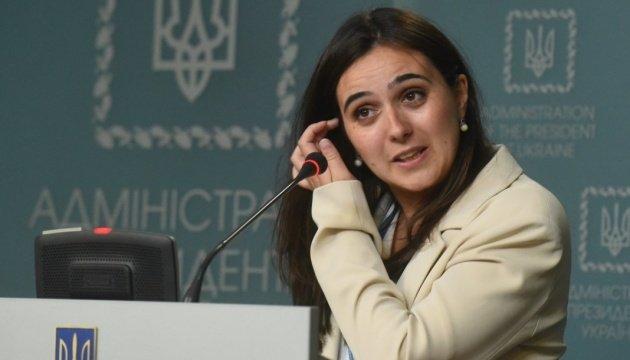 رأي يوليا مندل حول اللغة الروسية الأوكرانية