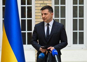 رئيس أوكرانيا فولوديمير زيلينسكي