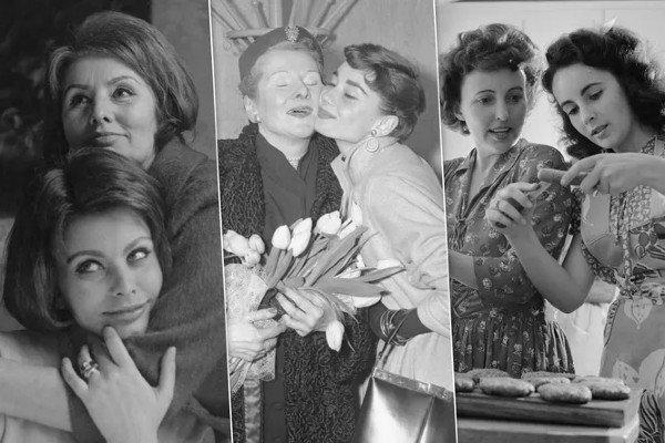 لقطات نادرة لنجمات القرن مع امهاتهن الـ 20 صور...