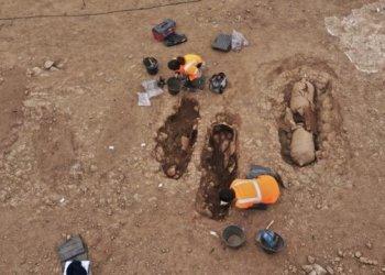 مدافن رومانية متأخرة تم العثور عليها في أمفورا في كورسيكا