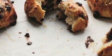 حلوى العيد من المطبخ المغربي كراشل برقائق الشوكولاته