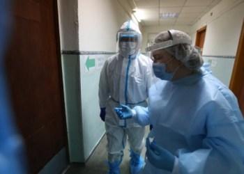 5094 إصابة جديدة بفيروس كورونا في أوكرانيا