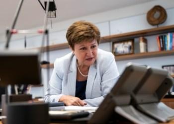 رئيسة البنك الدولي تشيد بمحادثتها مع الرئيس الأوكراني