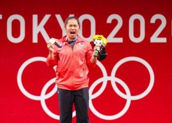 رافعة الأثقال دياز تفوز بأول ذهبية أولمبية للفلبين