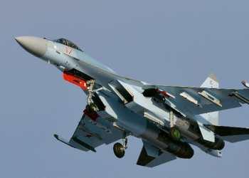 تحطم طائرة من طراز Su-35 في روسيا