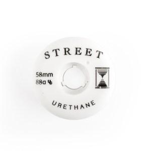 street urethane team wheel 58mm