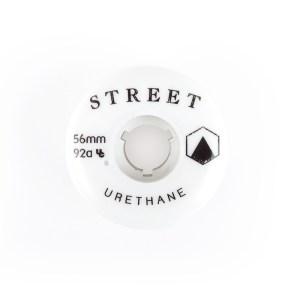 Street urethane team wheel 56mm