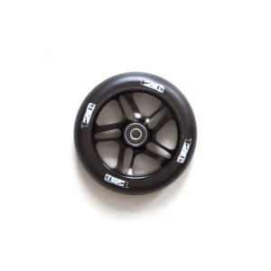 Blunt 5 Spoke Wheel - Black on Black - 120mm