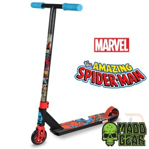 Madd Gear Mgp Marvel Whip Extreme Scooter - Spider Man