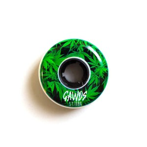 Gawds Team Weed Wheels - 57mm/89A