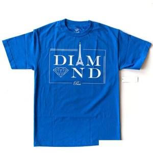 Diamond Paris T-Shirt - Royal