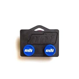 ODI Bar End Set - Blue