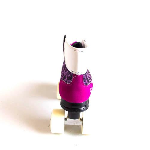 Rookie Retro Roller Skates - Purple Glitter