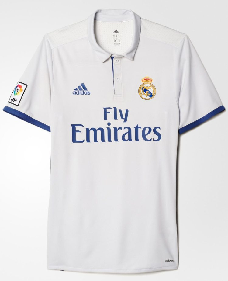 Real Madrid 2016/17 Home Kit Released