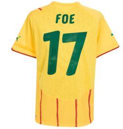 2010-11 Cameroon World Cup away (Foe 17)