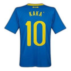 2010-11 Brazil World Cup Away (Kaka 10)