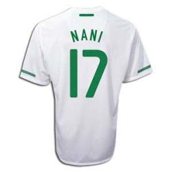 2010-11 Portugal World Cup Away (Nani 17)