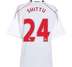 2010-11 Bolton Wanderers Home Shirt (Shittu 24)