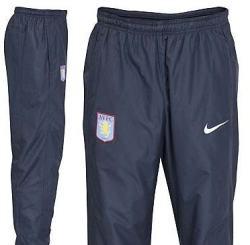 2010-11 Aston Villa Nike Woven Warmup Pants