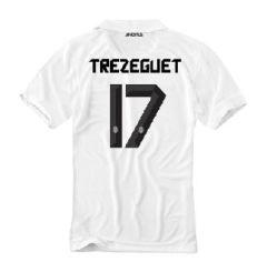 2010-11 Juventus Nike Away Shirt (Trezeguet 17)