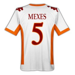 2010-11 Roma Kappa Away Shirt (Mexes 5)